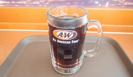 ルートビアという沖縄でしか飲めない炭酸飲料が異次元の味でした