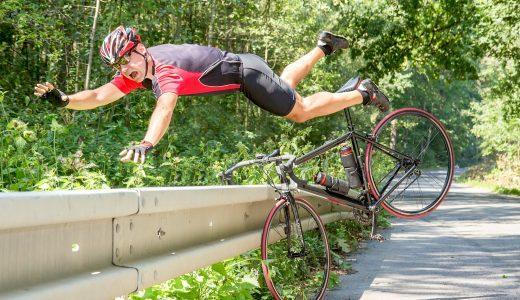 【超危険】ロードバイク乗るならヘルメットとグローブは絶対必要【体験談】
