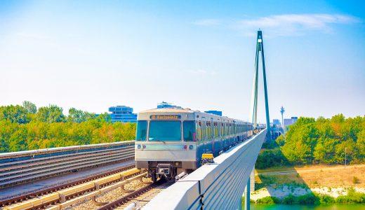 ウィーンからブラスチラバへ鉄道・列車で移動する方法