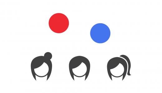 難問論理クイズ「幼女と赤青のマーク」が脳に電撃を与える