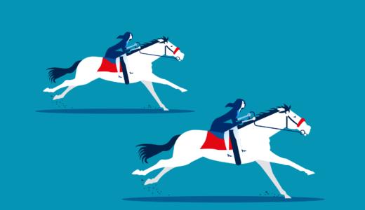 論理クイズ「幼女と2頭の馬レース」は発想力100%の問題
